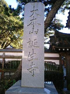 誕生寺表札