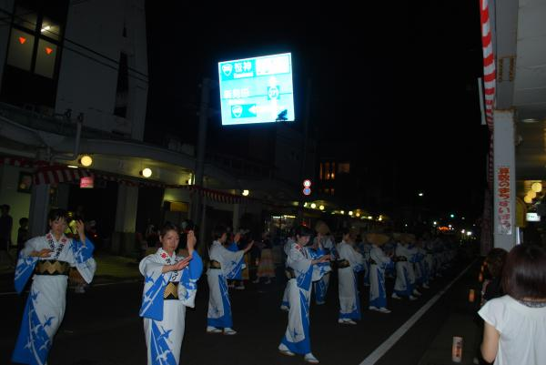 2010水原祭り・民謡流し