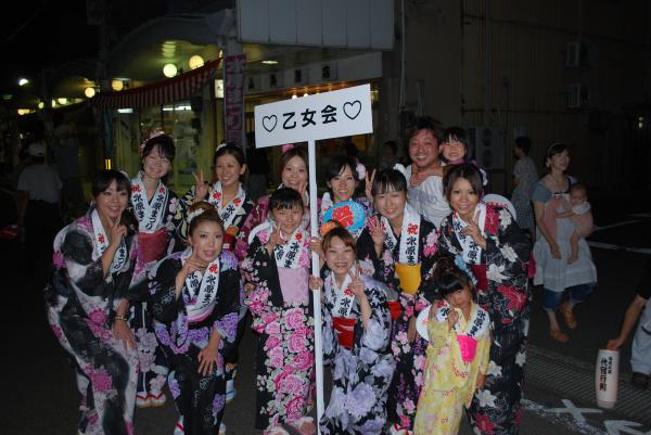 2010水原祭り・民謡流し・乙女会