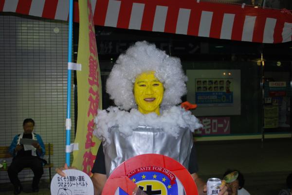 2010水原祭り・飲酒運転撲滅キャラ