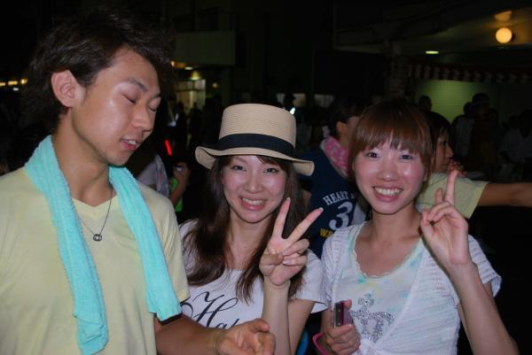 2010水原祭り・久しぶりに会った元同僚と妹夫婦