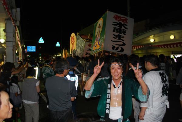 2010水原祭り・灯篭ライブとハイなおっさん①