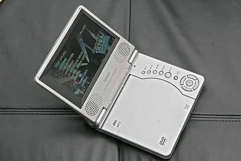 ポータブルDVDプレーヤー AXN3588-WH