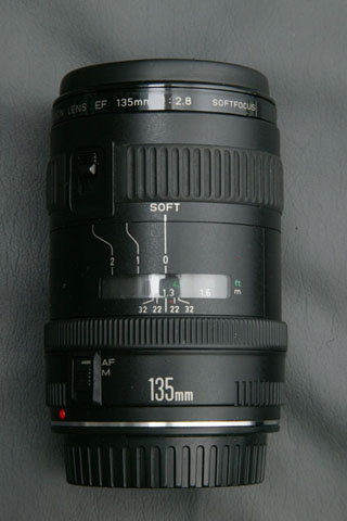 EF 135mm F2.8 Soft Focus