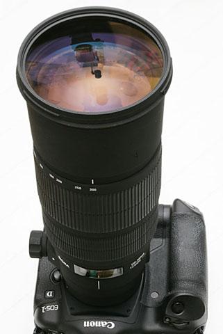 シグマAF120-300mmF2.8EX