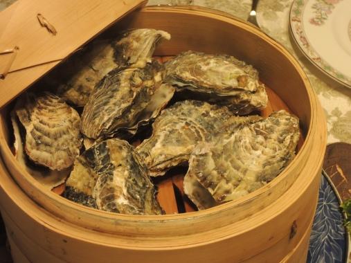2月3日 蒸し牡蠣