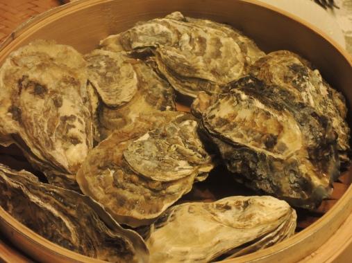 2月8日 蒸し牡蠣