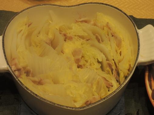 2月12日 豚バラ白菜