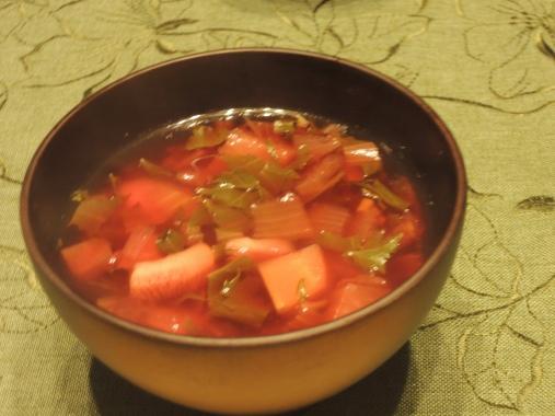 2月13日 野菜スープ