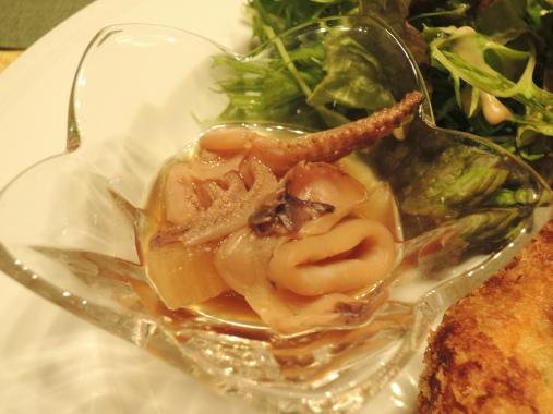 2月14日 イカと大根の煮物