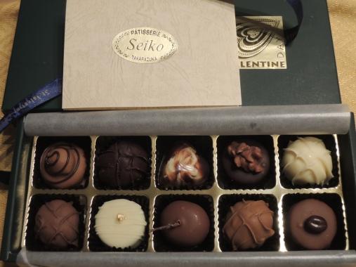 2月15日 チョコレート