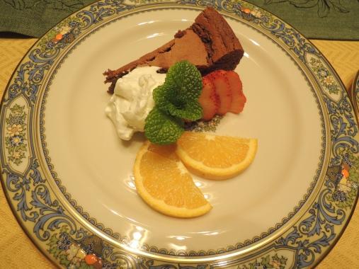 2月15日 チョコレートケーキ