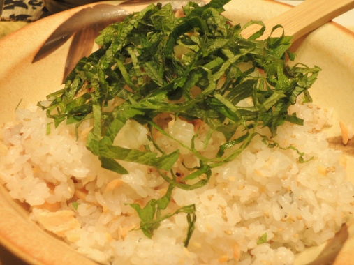 3月6日 鮭の混ぜご飯