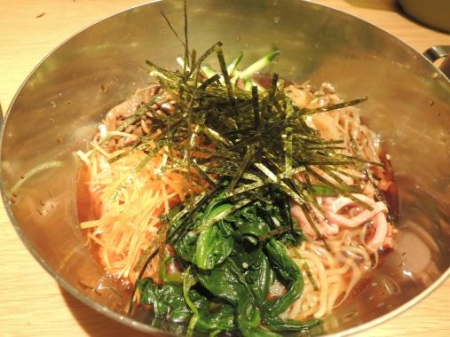 3月18日 冷麺