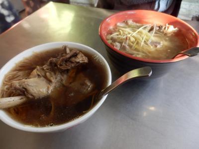 台湾・台中での食事1