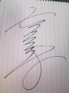 高平さんサイン
