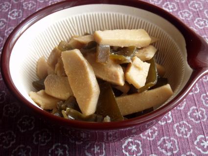 里芋と出汁昆布のとろとろ炒め煮03