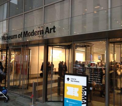 MoMA入り口