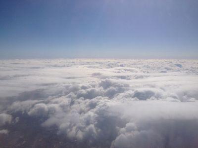 大空の写真