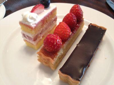 ケーキ後半戦
