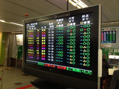 仙台駅新幹線売り場