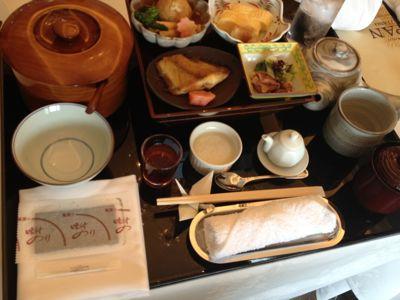 ラ・スイート神戸ハーバーランド、和食の朝食