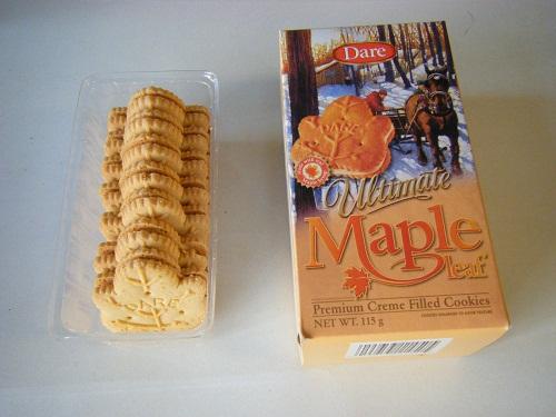 メープルクッキー2
