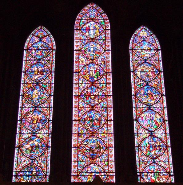 アイルランド ダブリンの聖パトリック大聖堂