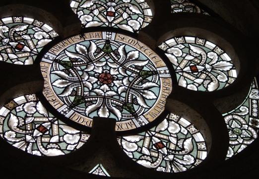 オーストリア ハイリゲンクロイツ修道院 ステンドグラス