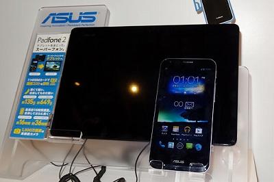 s-ASUSのPadFone 2