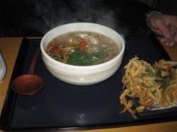 桜海老のかき揚蕎麦