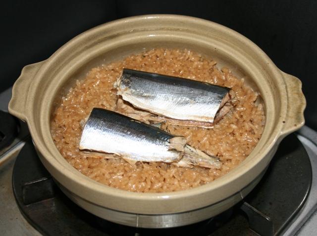 101030 サンマご飯 W