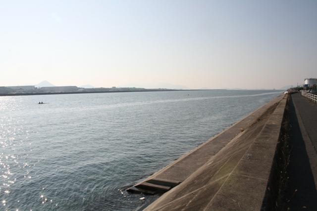 101121 大田川放水路 ボート3 W