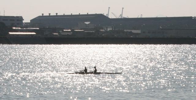 101121 大田川放水路 ボート2 W