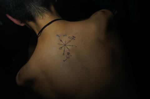 chavo tattoo hjkdsa;fheflbds