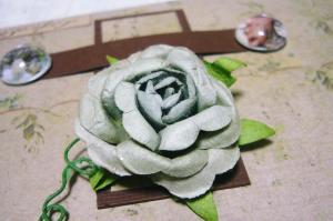 アンティークな薔薇