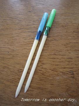 昭和レトロなペン軸