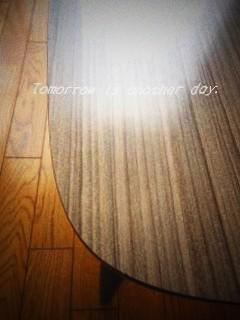 昭和レトロなセンターテーブル 天板
