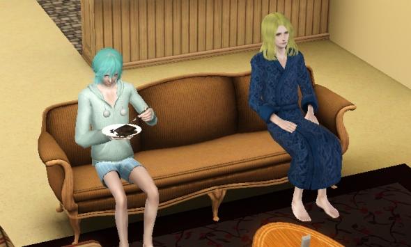 カミュ藍デート1