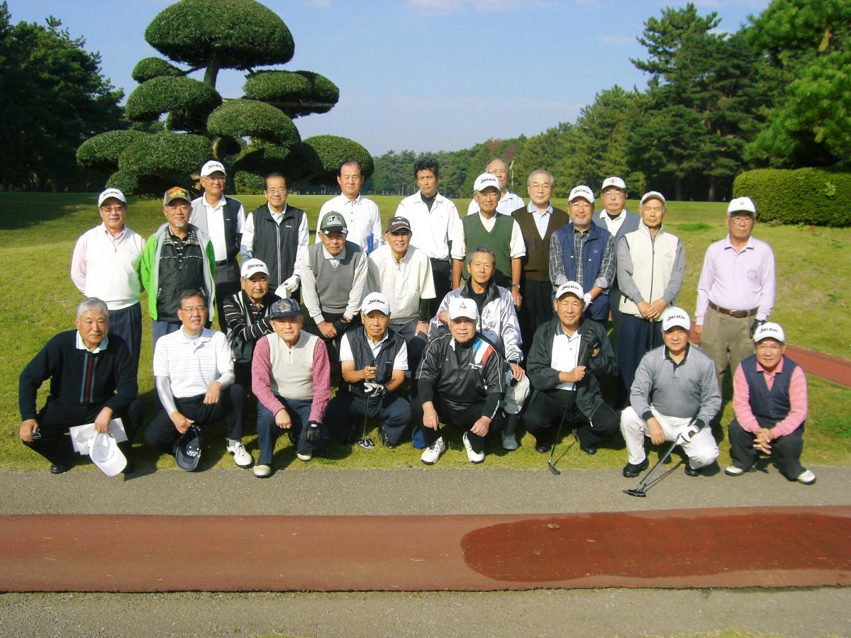市川早慶ゴルフ会2011年11月会合