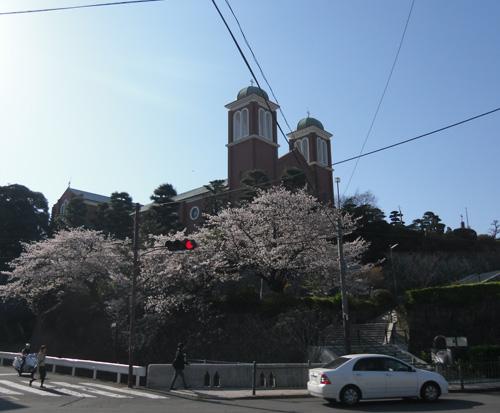 長崎の名所と桜