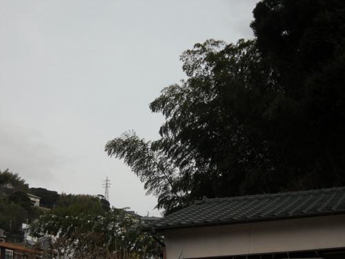 窓からの天気予報