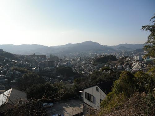 行きしな、長崎市内、三原のとある場所から。