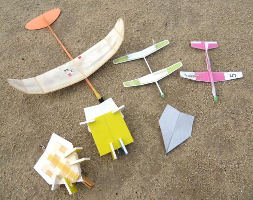 折紙飛行機も1