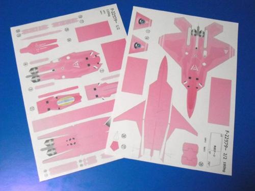 ピンクの猛禽
