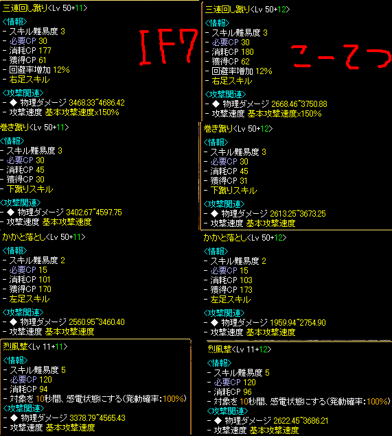無転生711武道スキル
