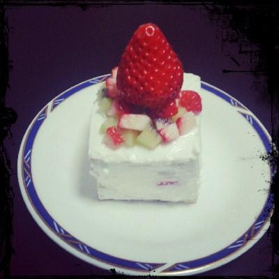 へっぽこケーキ