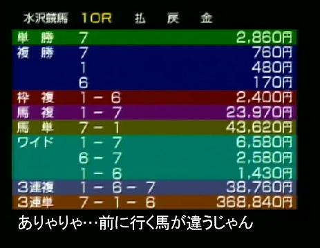 水沢レース結果10R