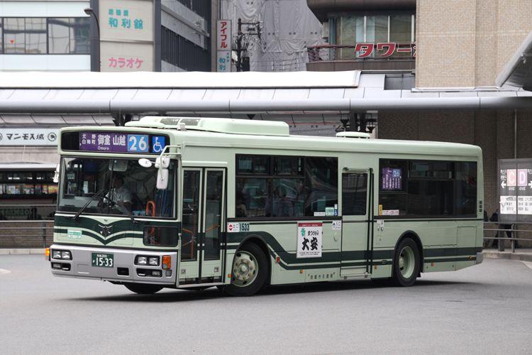 京都市交通局 京都200か1533 日野PJ-KV234N1