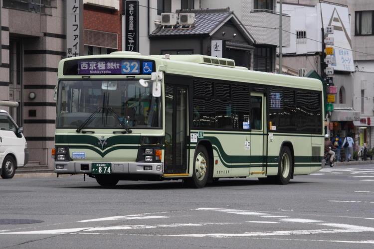 京都市交通局 京都200か・874 いすゞKL-LV280N1改